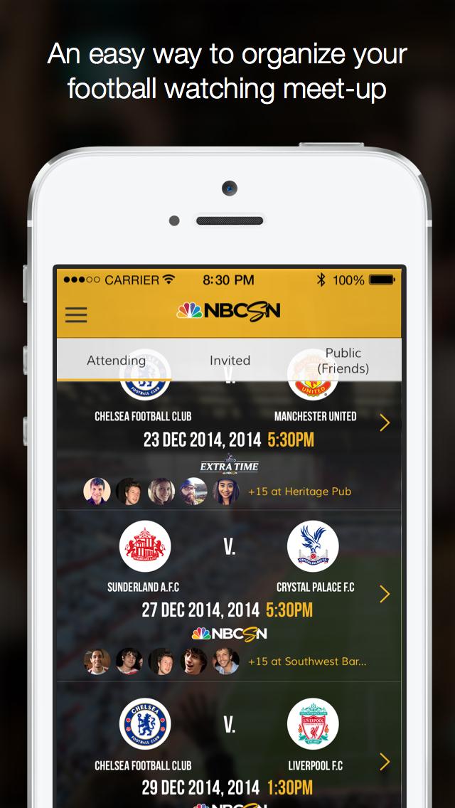 NBC Sports MatchMaker screenshot 5
