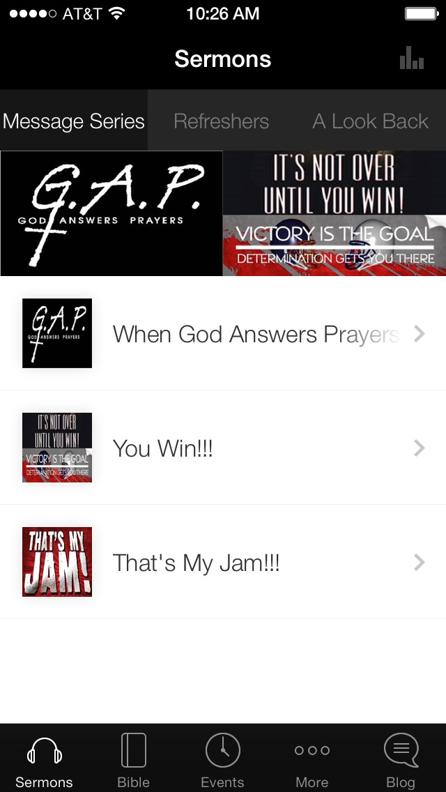 Greater Bethel Church screenshot 1