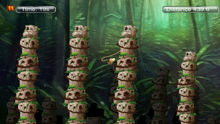Super monkey 3D : The Jump And Fly Adventure In The Jungle screenshot 3