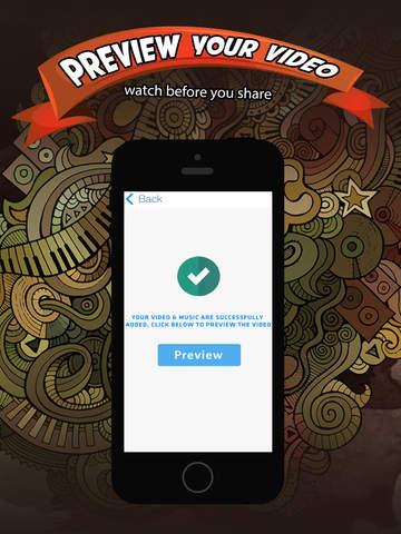 Add Music & Video Editor FREE - Enter Video-Shop screenshot 9