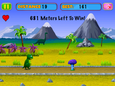 Baby Dino vs Hunter Snake Carnivores screenshot 2
