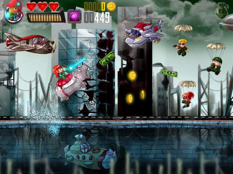 Ramboat: Shooting Offline Game screenshot 10