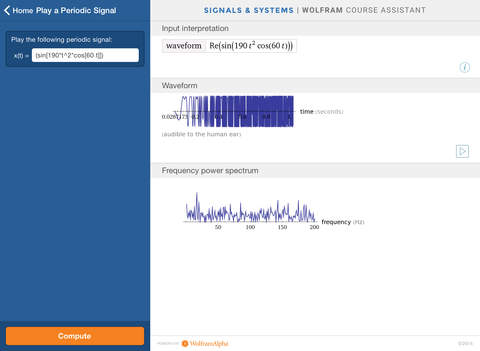 Wolfram Signals & Systems Course Assistant screenshot 9