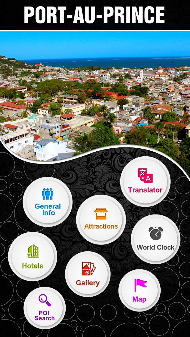 Port-au-Prince City Offline Travel Guide screenshot 2