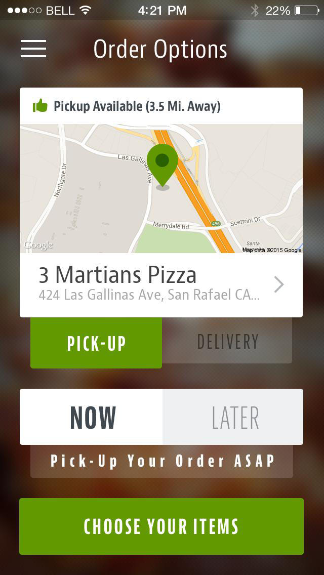 3 Martians Pizza screenshot 2