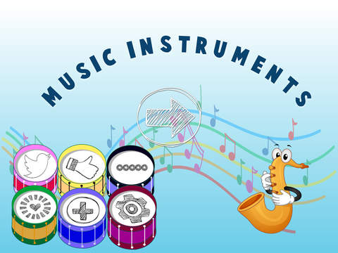 Free Memo Game Music Instruments Cartoon screenshot 6