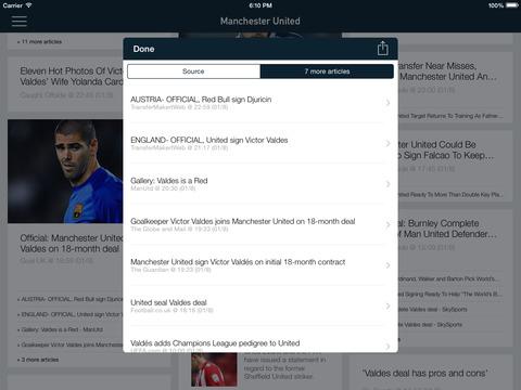 Foot Reader : mercato Football screenshot 6