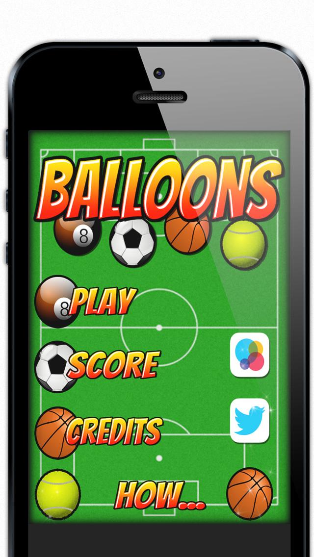 Sport Balloons FREE screenshot 1