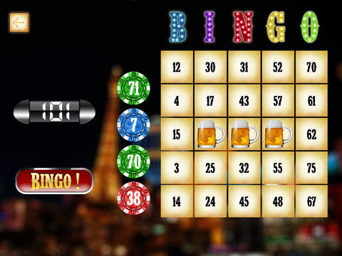 Las Vegas Bingo Mania - win casino gambling tickets screenshot 6