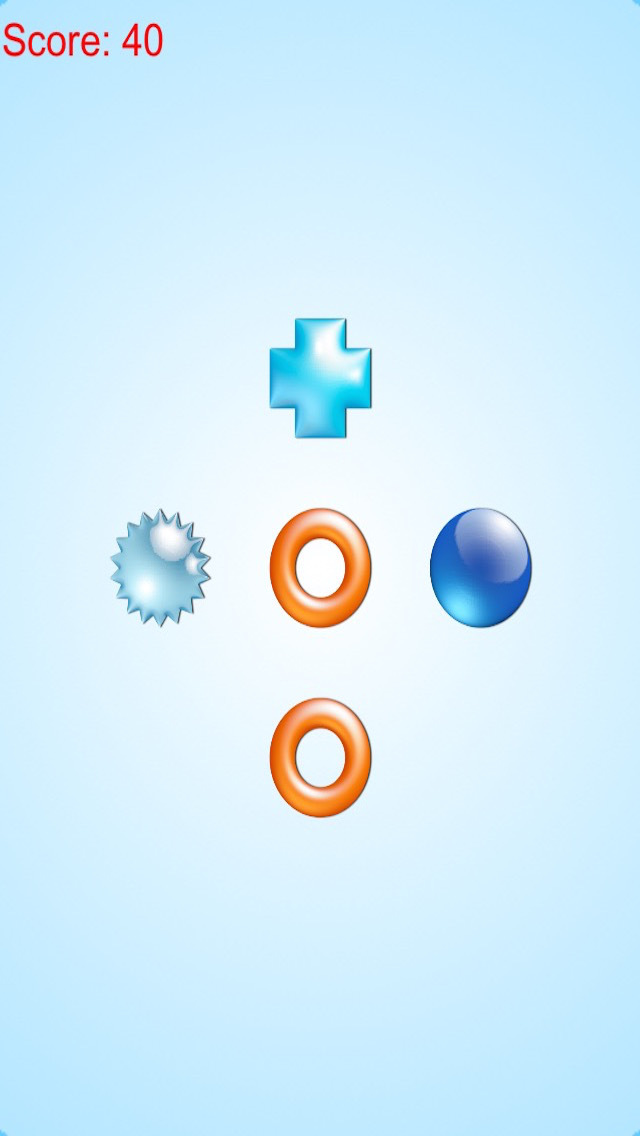 Challenge Mind With Clever Brain Game: Find Same Shape Free screenshot 3
