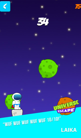 Universe Escape screenshot 2