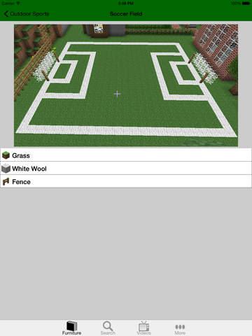 FURNITURE INFO FOR MINECRAFT PE (POCKET EDITION) screenshot 7
