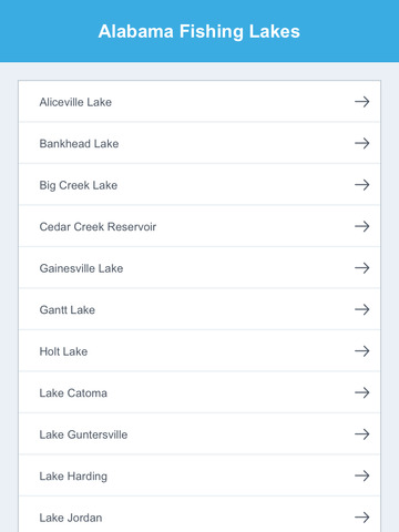 Alabama Fishing Lakes screenshot 7