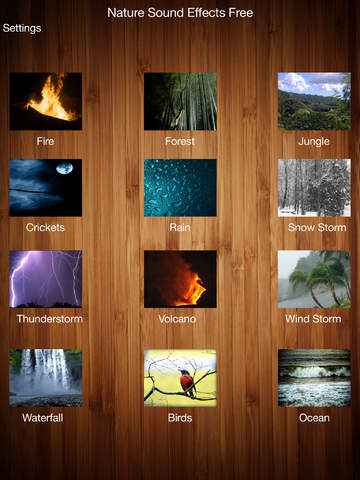 Nature Sound Effects Free!! screenshot 3