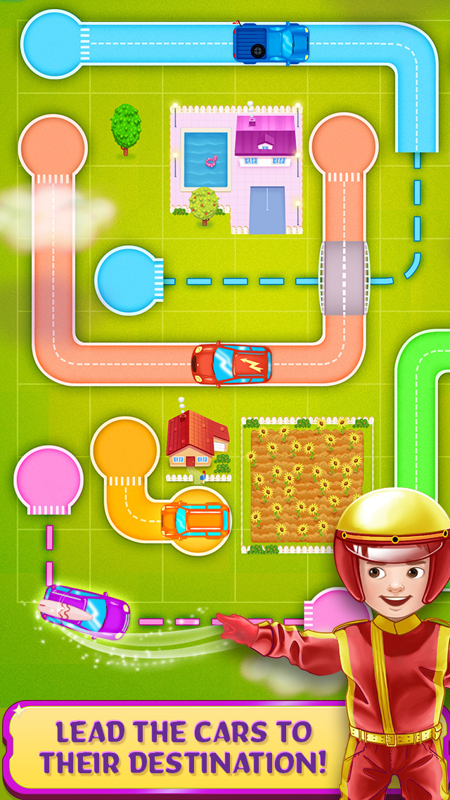 Tiny Roads Car Puzzles screenshot 2
