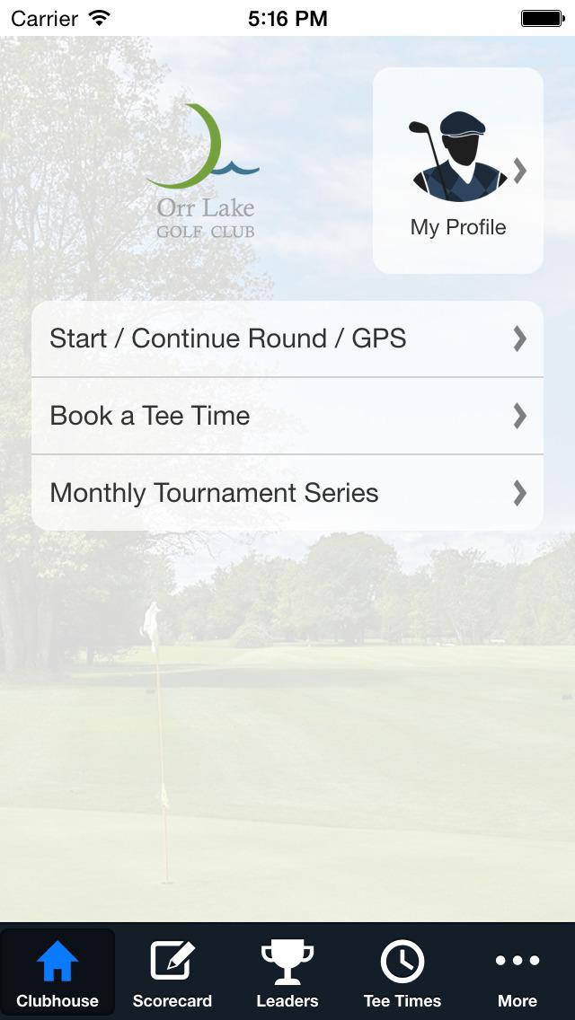 Orr Lake Golf Club screenshot 2