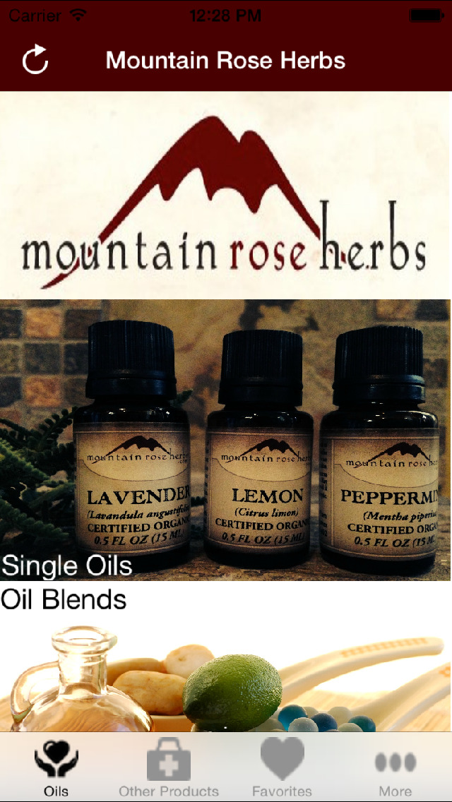 Mountain Rose Herbs Essential Oils screenshot 1