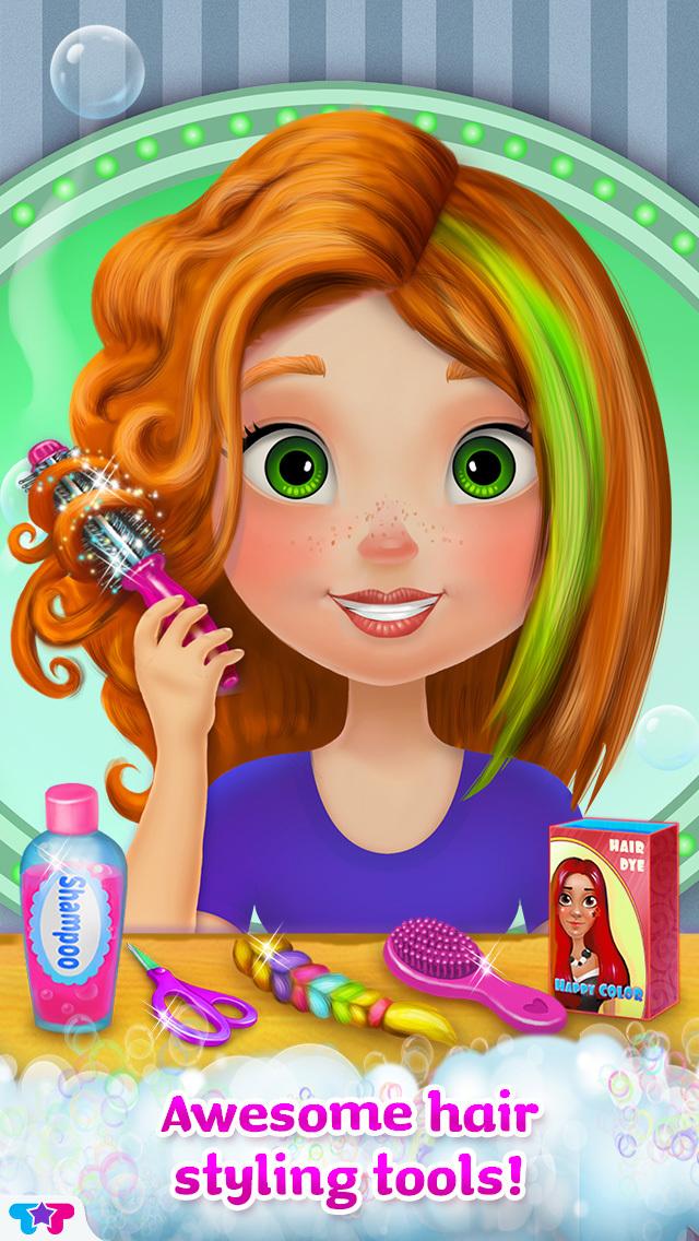 Crazy Hair Salon Makeover screenshot 3