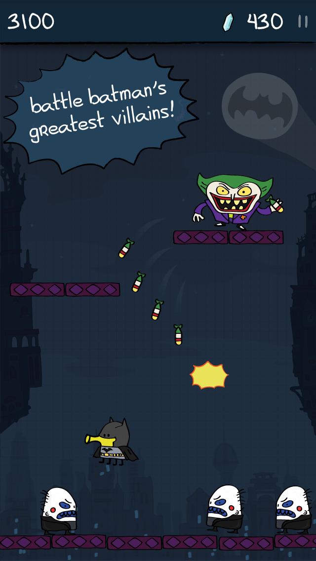 Doodle Jump DC Super Heroes screenshot 4