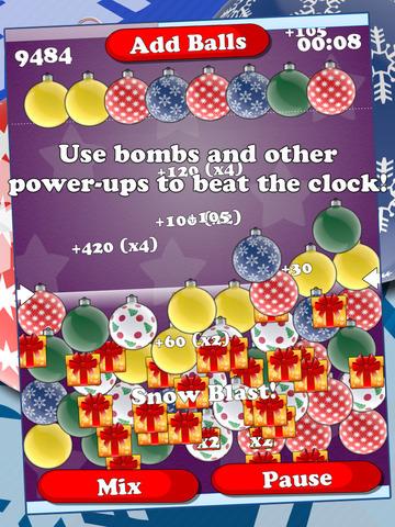 Billions Of Baubles - Free Christmas Balls Popping Game screenshot 6