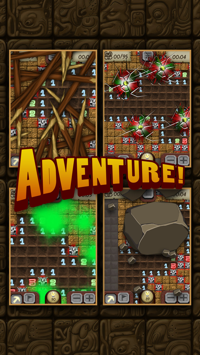 Temple Minesweeper - El Dorado Adventure with Mine Sweeper Gameplay screenshot #3