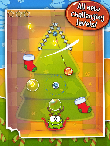 Cut the Rope: Holiday Gift screenshot #2