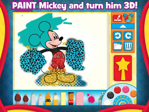 Mickey Mouse Clubhouse - Color & Play screenshot #2