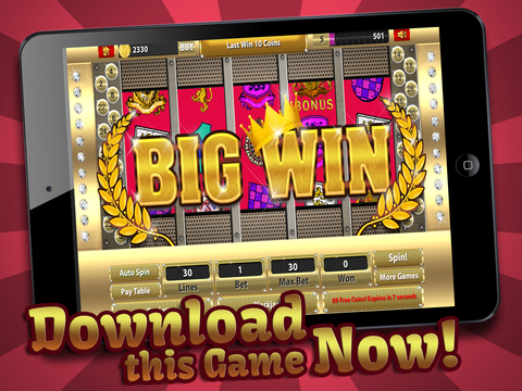 Slots - Thrones & Thieves (Big Win King Casino of Fire Warriors & Legends) Free screenshot 6