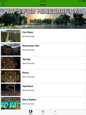 Maps Guide for Minecraft PE screenshot 6