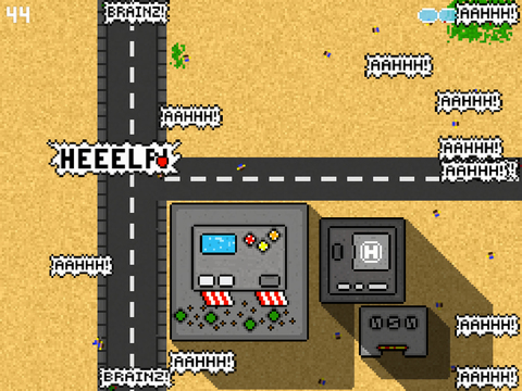 Crossroad Zombies screenshot 2