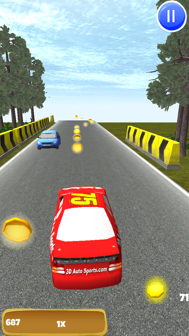 A Stock Car Speedway: 3D Speed Racing Game - FREE Edition screenshot 1
