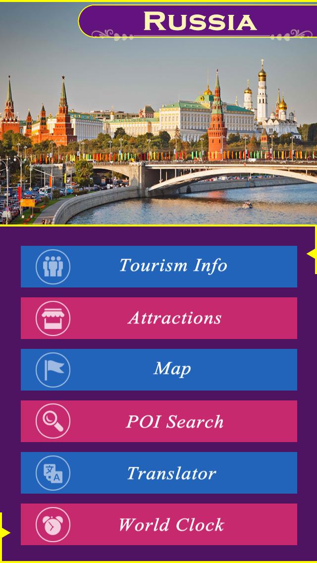 Russia Tourism Guide screenshot 2