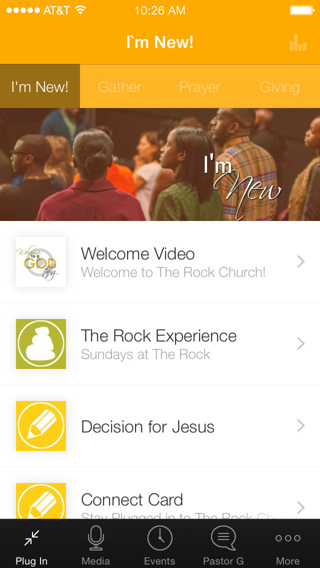 The Rock Church London screenshot 1
