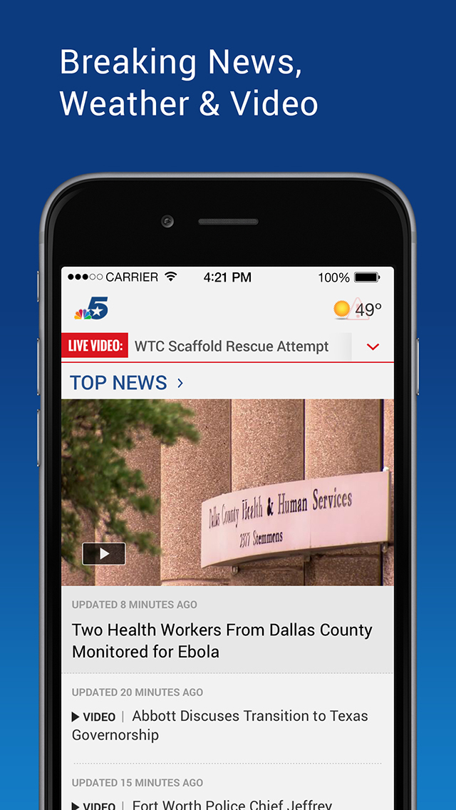 NBC 5 Dallas-Fort Worth screenshot 1