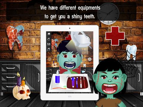 Zombie Monster Dentist Lite screenshot 8