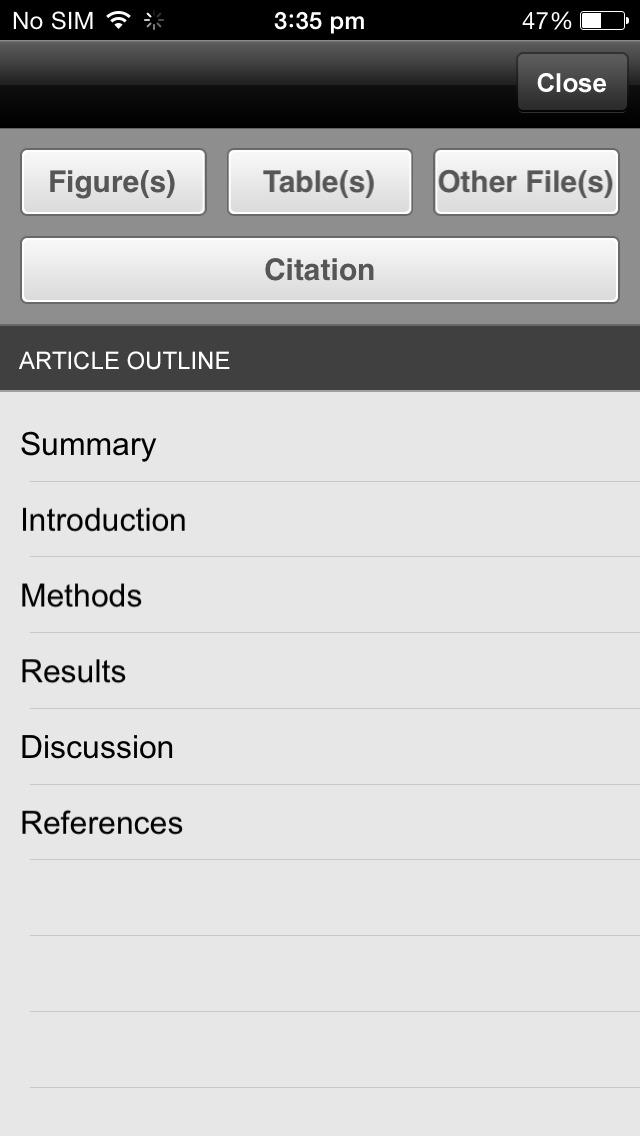 The Lancet screenshot 5