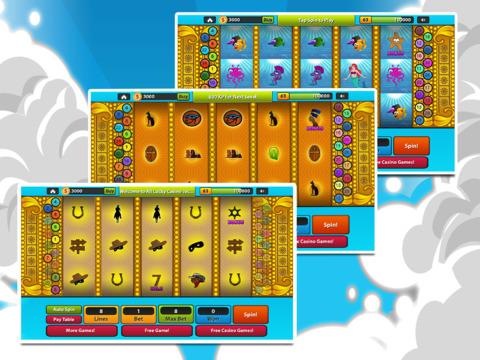 `Ace Lucky Casino Jackpot Gold Slots - Slot Machine with Blackjack, Solitaire, Roulette, Bonus Prize Wheel screenshot 9