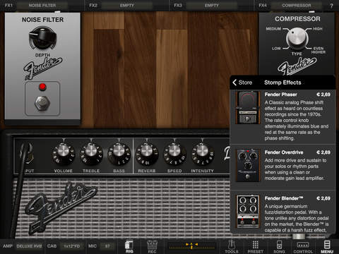 AmpliTube Fender™ FREE for iPad screenshot 3