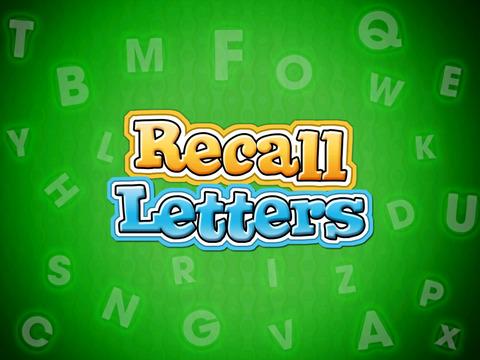 Recall Letters screenshot 5