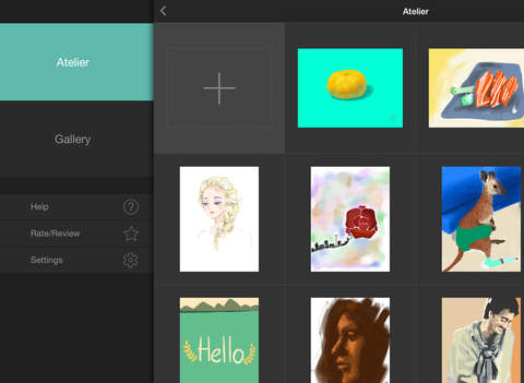 Atelier: Draw, Sketch, Paint screenshot 10