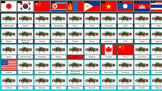 National flag quiz FVD screenshot 3