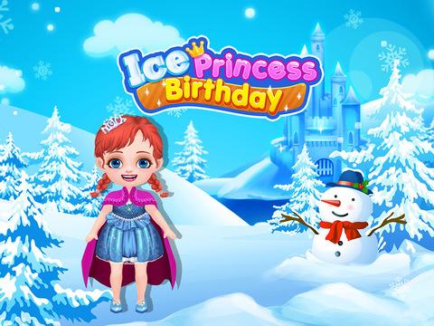Ice Princess Birthday Makeover - Freeze Fever! Gir - náhled