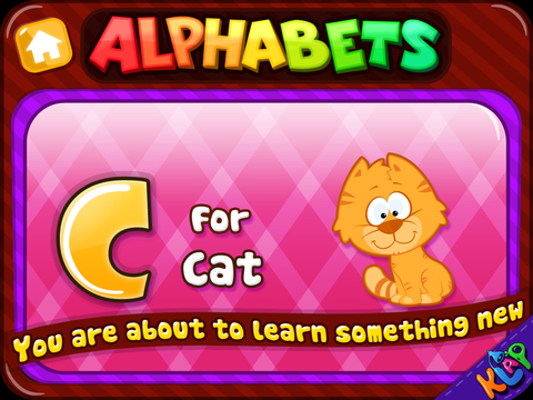 WORDZ CLUB Alphabets HD screenshot 3