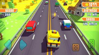 Blocky Highway screenshot 2