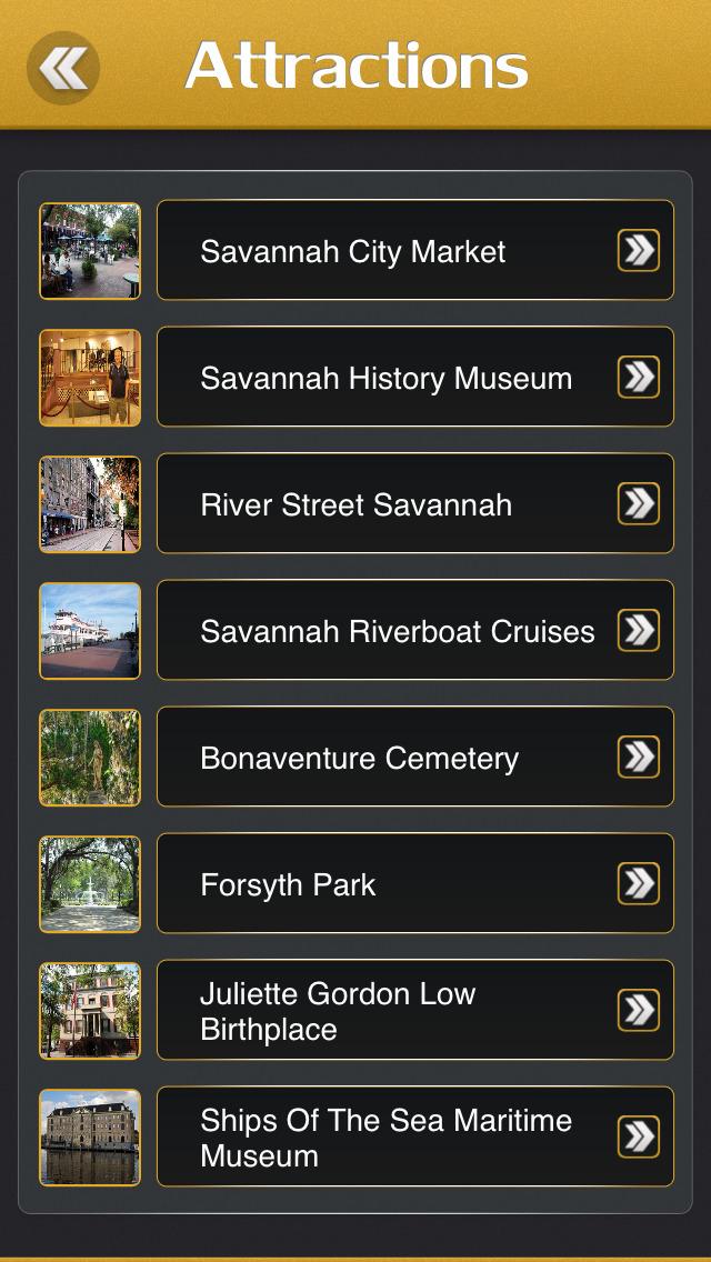 Savannah Tourism Guide screenshot 3