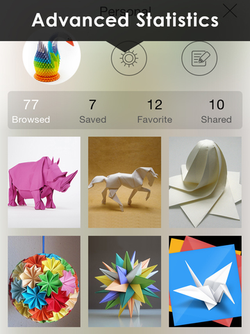 Origami wallpapers HD - Amazing Aart Backgrounds screenshot 9