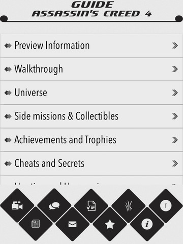Guide + Cheats for Assassin's Creed 4 screenshot #1