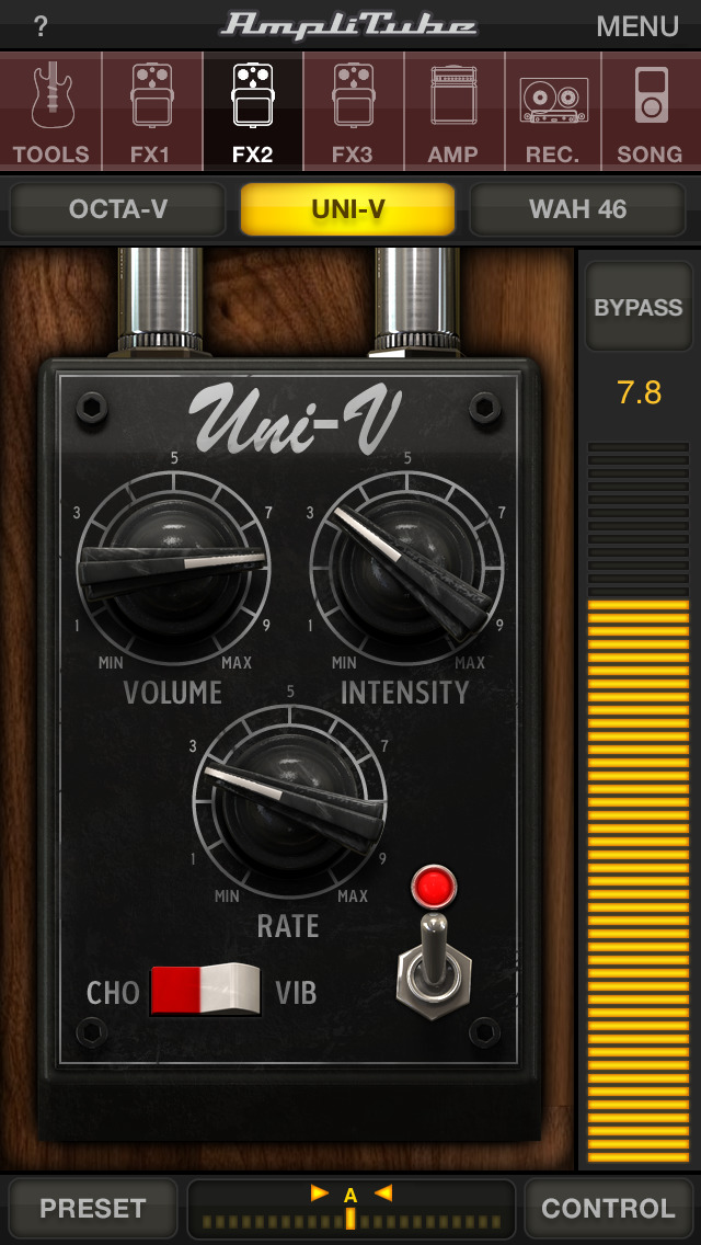 AmpliTube Jimi Hendrix™ screenshot 3
