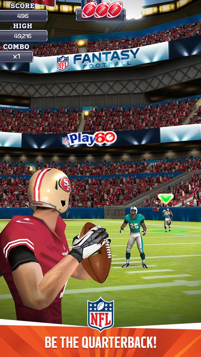 NFL Quarterback 15 screenshot 1