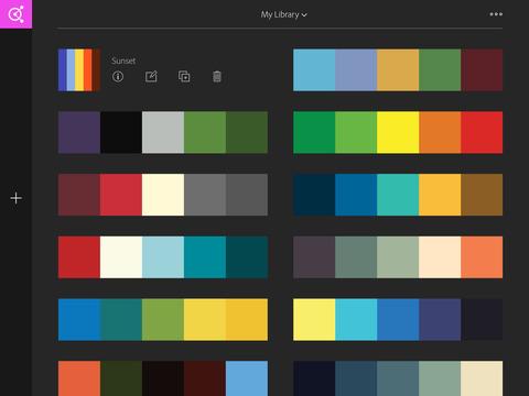 Adobe Color CC – capture color themes screenshot 8